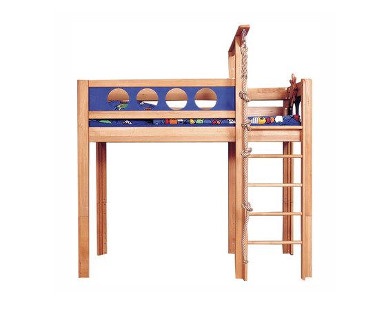 Pirate Game Loft Bed DBA-202 de De Breuyn | Camas de niños / Literas