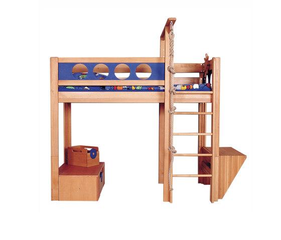 Pirate Bed with Platform DBA-202 de De Breuyn | Camas de niños / Literas