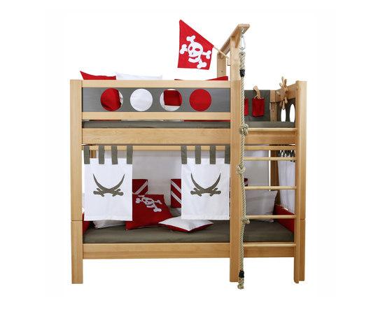 Pirate Bunk Bed  DBA-202.9 de De Breuyn | Camas de niños / Literas