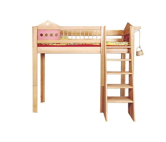 Villa game loft bed DBA-201 de De Breuyn | Camas de niños / Literas