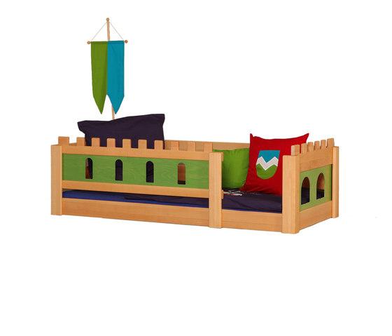 Castle Knight low bed DBA-208.6 de De Breuyn | Camas de niños / Literas