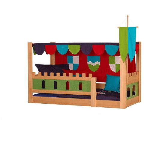 Castle poster bed DBA-208.4 di De Breuyn | Letti per bambini