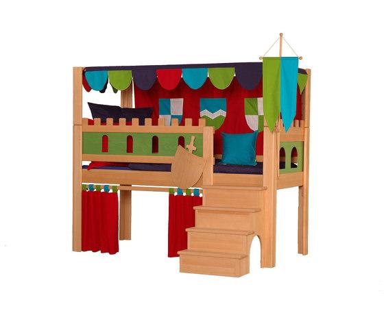 Castle Play bed with Canopy DBA-208.2 de De Breuyn | Camas de niños / Literas