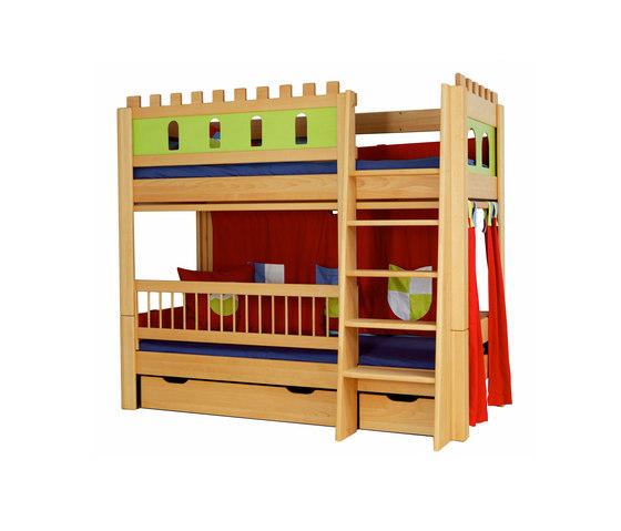 Castle loft game bed DBA-208 de De Breuyn | Camas de niños / Literas