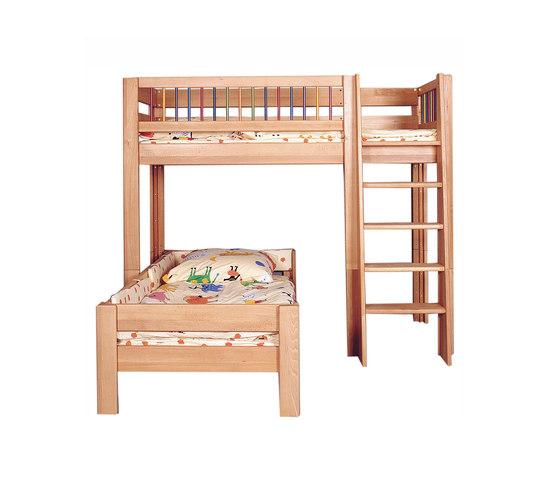 Kubu Game Bunk Bed DBA-207.10 de De Breuyn | Camas de niños / Literas