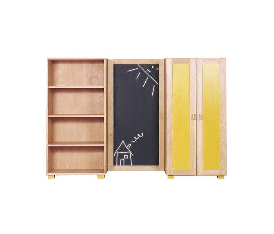 Cabinet Combination 04 di De Breuyn | Contenitori infanzia