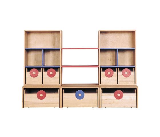 Cabinet Combination 10 de De Breuyn | Armarios / Estanterías para niños