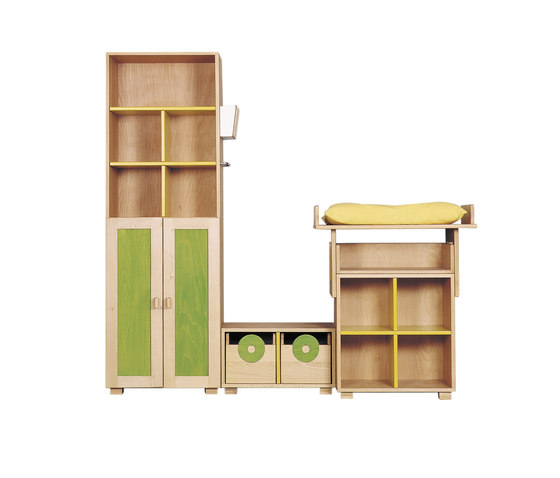 Cabinet Combination 12 di De Breuyn | Contenitori infanzia