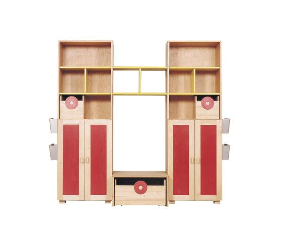Schrankkombination 13 von De Breuyn | Kinderschrankmöbel