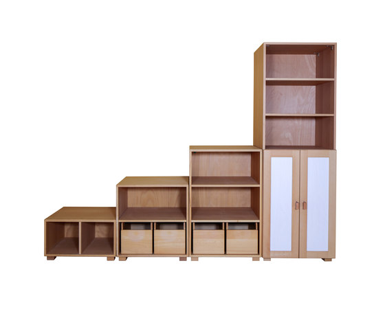 Cabinet Combination 23 di De Breuyn | Children's area