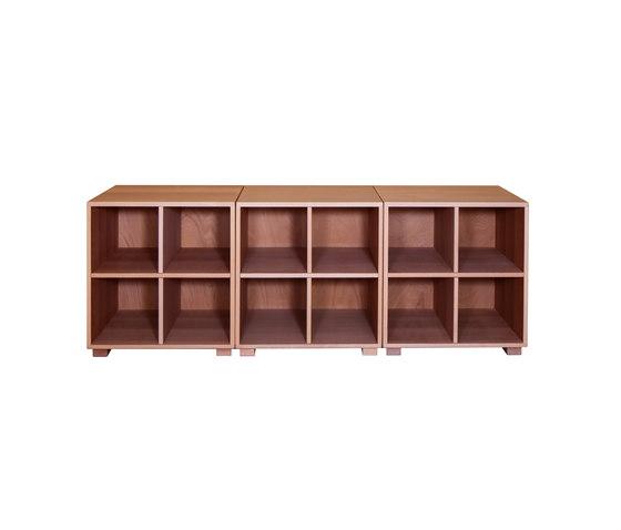 Cabinet Combination 24 di De Breuyn | Contenitori infanzia