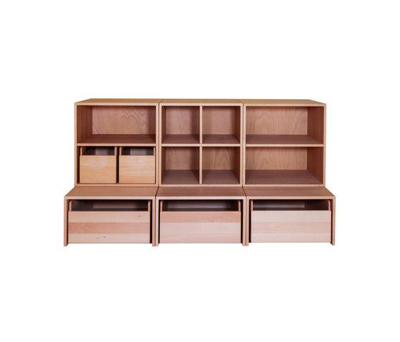 Cabinet Combination 25 de De Breuyn | Zona para niños