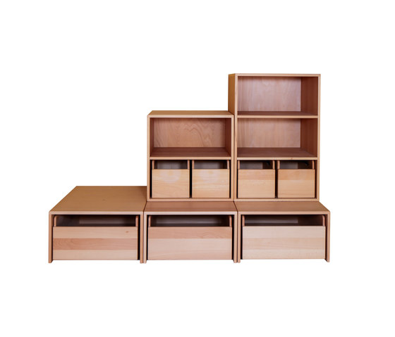Cabinet Combination 26 by De Breuyn | Children's area