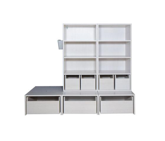 Cabinet Combination 30 de De Breuyn | Zona para niños