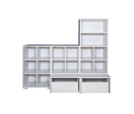 Cabinet Combination 34 di De Breuyn   Contenitori infanzia