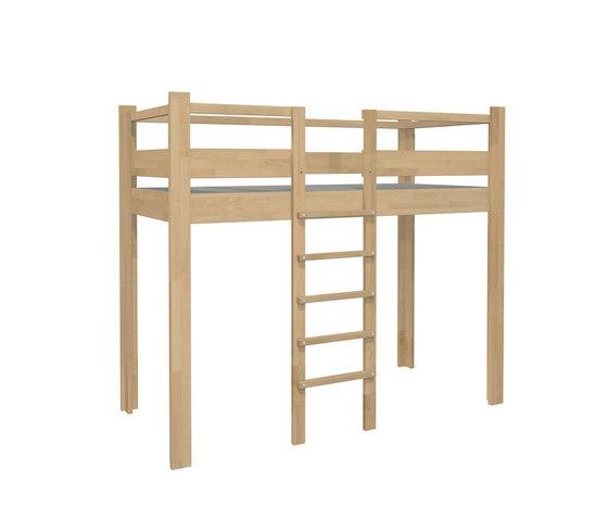 Play Bed High DBB-100A by De Breuyn | Children's beds