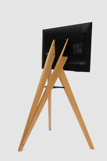 screen rack front row multimedia st nder von roomours kommunikationstools architonic. Black Bedroom Furniture Sets. Home Design Ideas