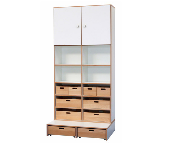 High Modul  DBF-622-2-10 by De Breuyn | Kids storage furniture