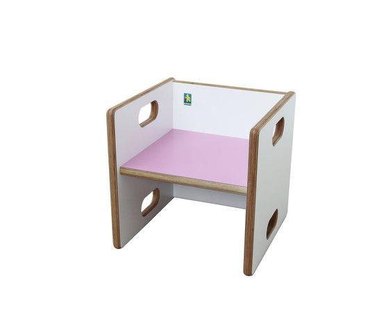 Convertible Chair   DBF-813-55 by De Breuyn | Children's area