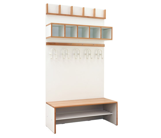 Wardrobe Furniture Modul  DBF-414 di De Breuyn | Guardaroba infanzia