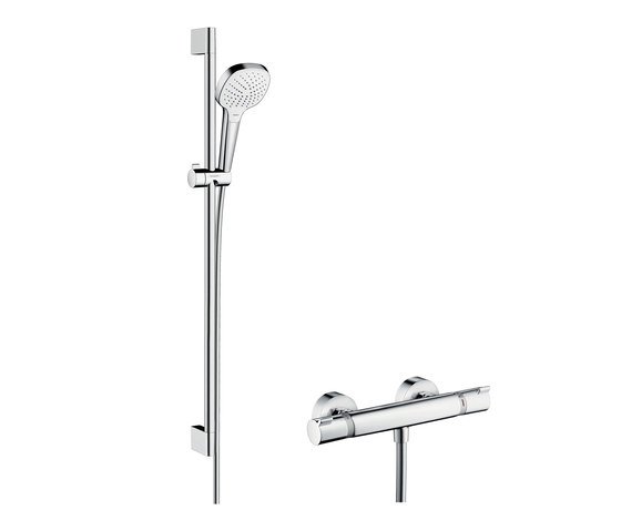 hansgrohe Croma Select E Vario Combi Set 0.90 m by Hansgrohe | Shower controls