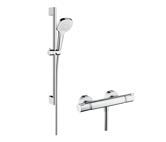 hansgrohe Croma Select E Vario Combi Set 0.65 m by Hansgrohe | Shower taps / mixers