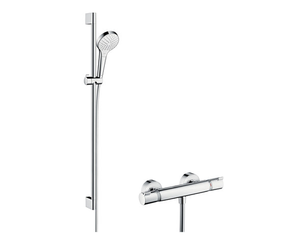 hansgrohe Croma Select S Vario Combi Set 0.90 m by Hansgrohe | Shower controls