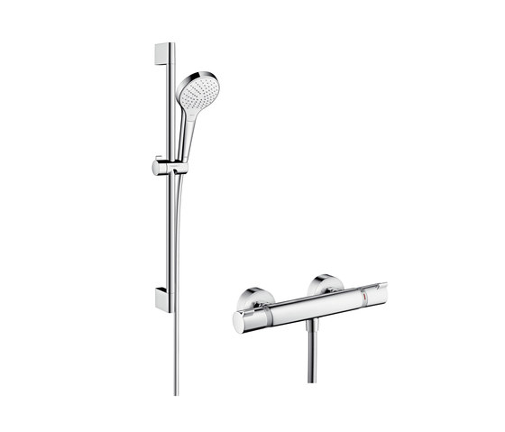 Hansgrohe Croma Select S Vario Combi Set 0.65 m by Hansgrohe | Shower taps / mixers