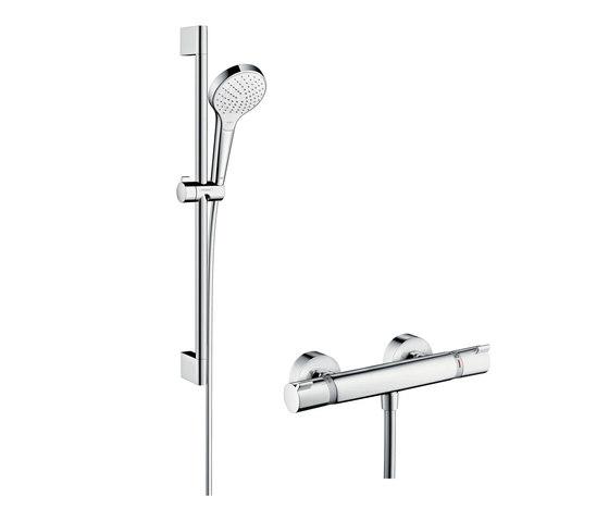 hansgrohe Croma Select S Vario Ecostat Comfort Combi 0,65m de Hansgrohe | Grifería para duchas