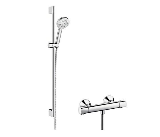 Hansgrohe Crometta 100 Vario Combi Set 0.90 m by Hansgrohe | Shower taps / mixers