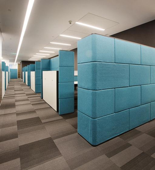 Megaron Partition Panel de Koleksiyon Furniture | Cabinas de oficina