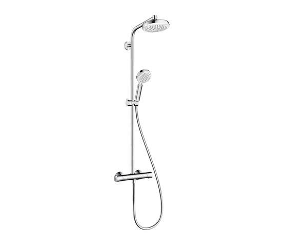 Hansgrohe Crometta 160 1jet Showerpipe by Hansgrohe | Shower taps / mixers