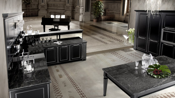 mirabeau di veneta cucine architonic. Black Bedroom Furniture Sets. Home Design Ideas