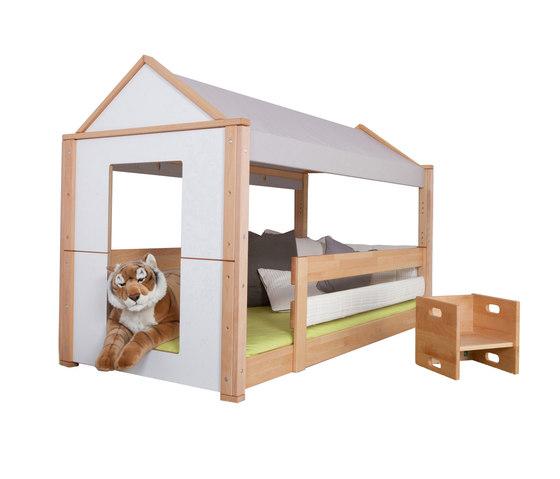 Maison low play bed di De Breuyn | Letti per bambini