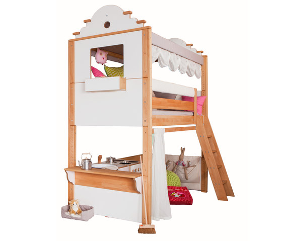 Maison high play bed by De Breuyn | Kids beds