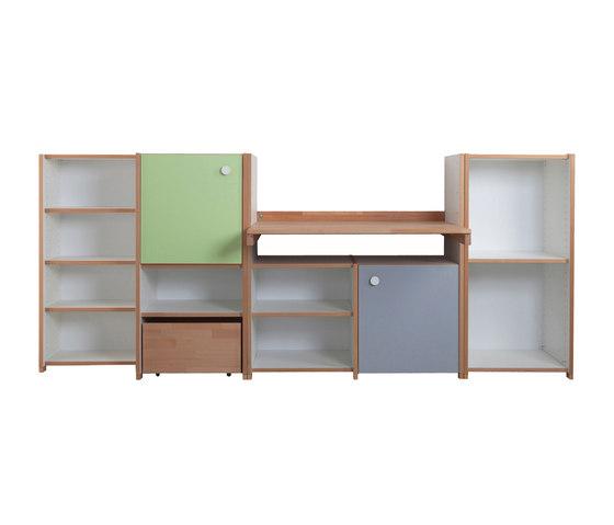 Module armoire avec bureau de De Breuyn | Meubles rangement enfant