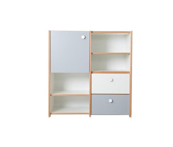 Cabinet Combination DBC-63 de De Breuyn | Armarios / Estanterías para niños