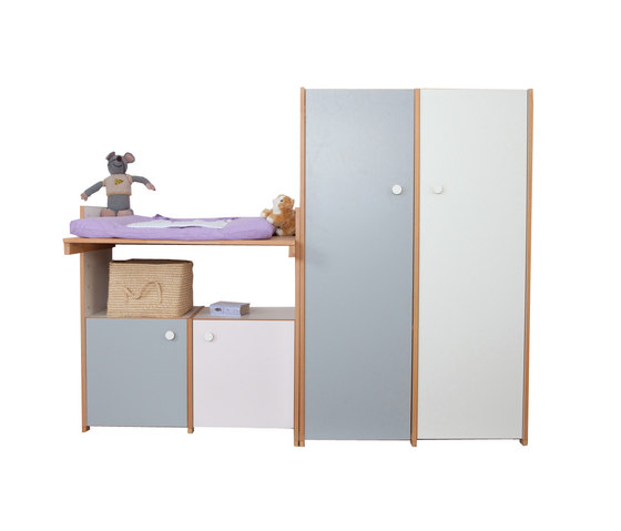 Changing Table with Wardrobe di De Breuyn | Fasciatoi