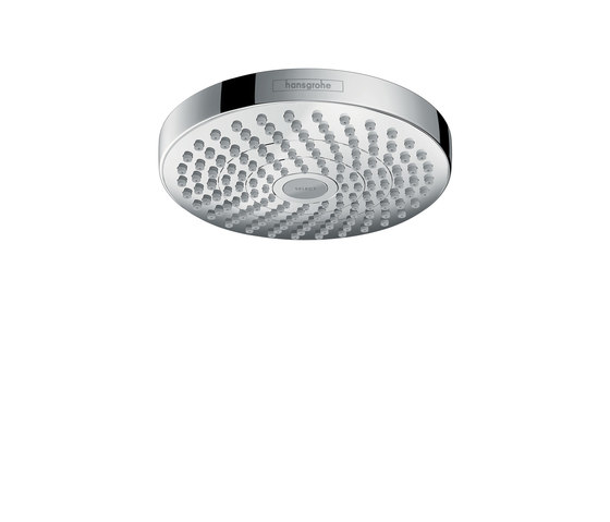 hansgrohe Croma Select S 180 2jet overhead shower by Hansgrohe | Shower taps / mixers