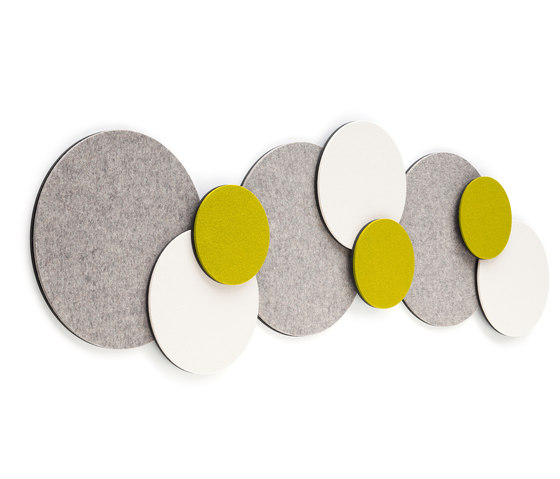 Acoustic element Twister by HEY-SIGN | Sound absorbing wall systems
