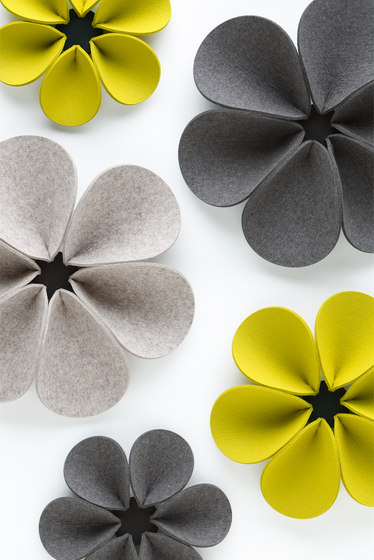 Acoustic element Silent Flower by HEY-SIGN | Sound absorbing wall systems
