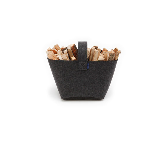 Firewood basket small by HEY-SIGN | Storage boxes
