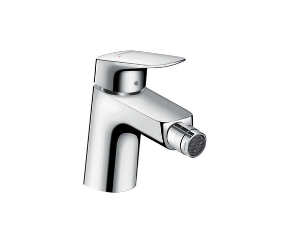 hansgrohe Logis Single lever bidet mixer 70 with pop-up waste set by Hansgrohe   Bidet taps