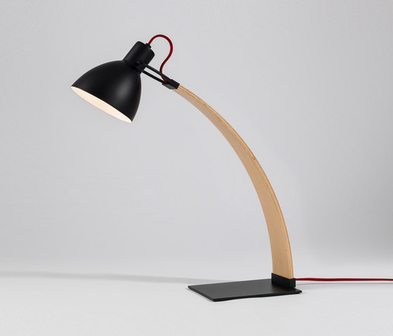 laito wood desk lamp general lighting from seeddesign architonic. Black Bedroom Furniture Sets. Home Design Ideas