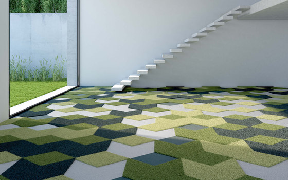TEXtiles | Darts + Diamonds by Vorwerk | Carpet tiles