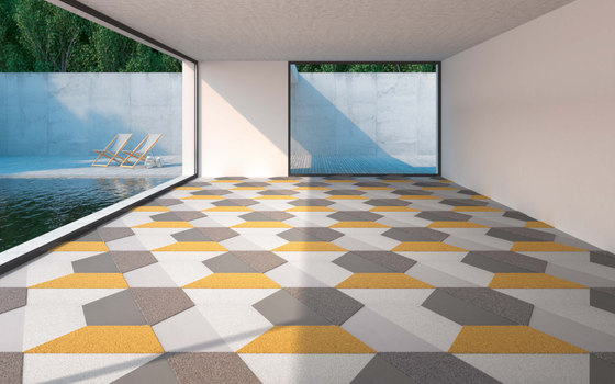 TEXtiles | Trapez by Vorwerk | Carpet tiles