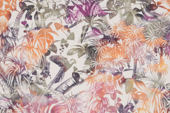 Benu Splash 103 by Christian Fischbacher | Drapery fabrics