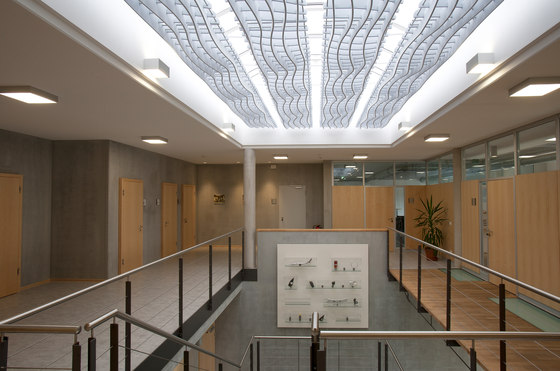 WAVE Acoustic absorber ceiling by Wave | Acoustic ceiling systems