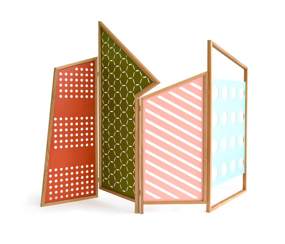 Opto Folding Screen by Colé | Space dividers