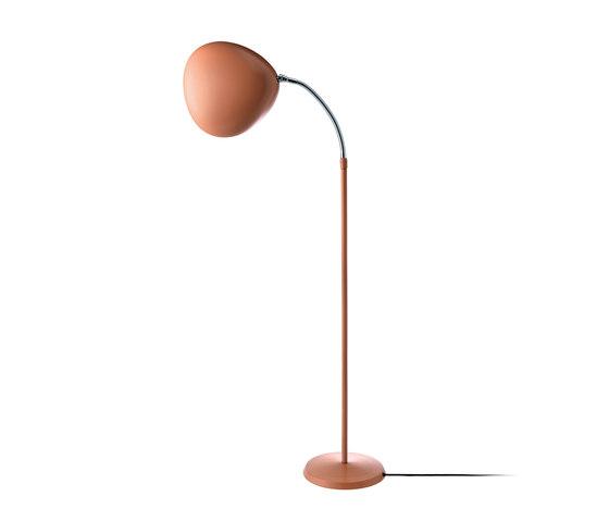 Cobra Floor lamp | Vintage Red by GUBI | Free-standing lights